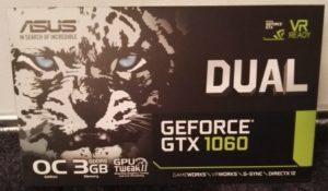 Asus-GTX-1060 Nvidia GeForce Verpackung